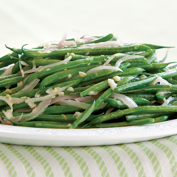 Lemon-Ginger Green Beans - Paula Deen Magazine
