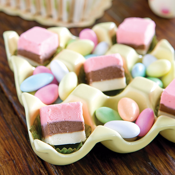 fudge for Easter