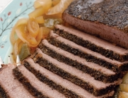 brisket cooked with beer in a slow cooker