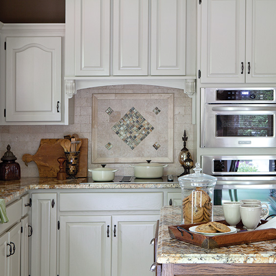 Easy Kitchen Backsplash Makeover: Kitchen Makeover Done Right-Cooking With Paula Deen