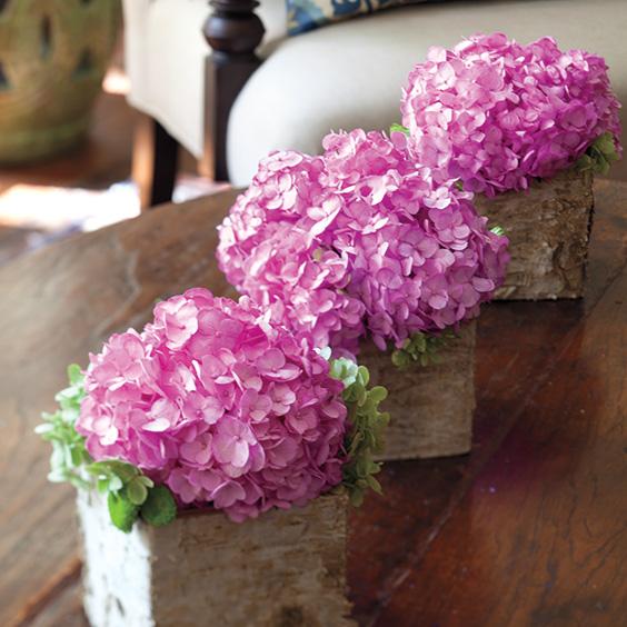 6 hydrangea bouquet