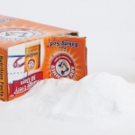 baking soda spilling out of its box