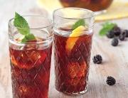 blackberry-lemon-mint tea