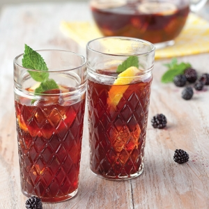 blackberry-lemon-mint tea