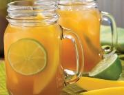 mango-lime tea