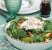 garden chicken salad with honey-balsamic vinaigrette