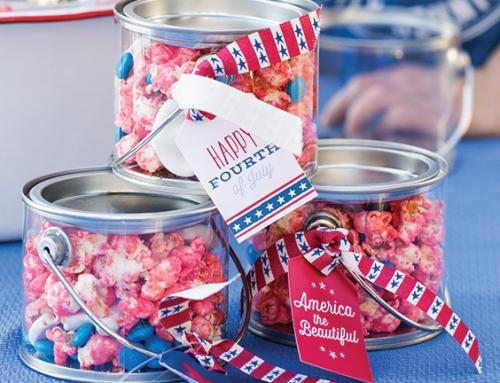 Patriotic Gift Tag