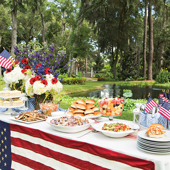 Backyard Cookout Menu: Patriotic Celebrations