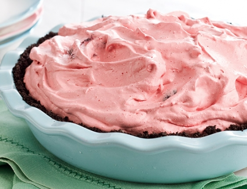Chocolate-Cherry Chiffon Pie