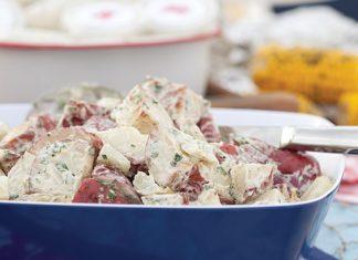 Roasted Potato and Fennel Salad