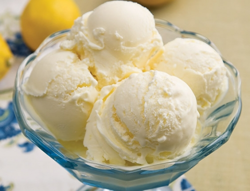 Lemon Custard Ice Cream