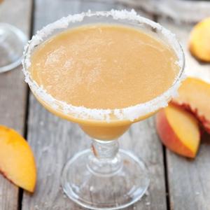 peach-ginger margarita