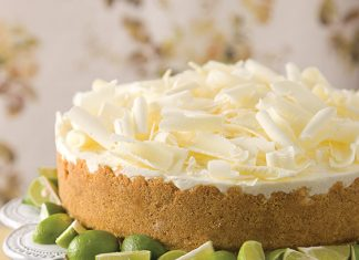 key lime mousse cake