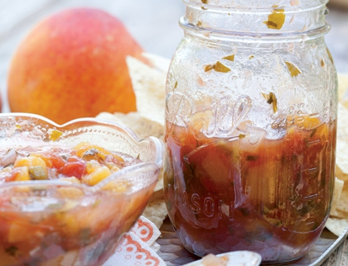 Peach-Tomato Salad with Herbed Buttermilk Dressing - Paula Deen ...