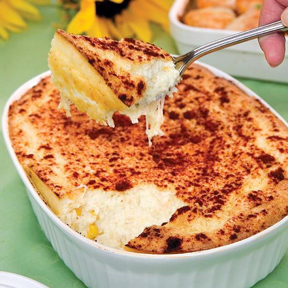 cheesy corn spoonbread
