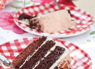 chocolate-mocha-caramel cake
