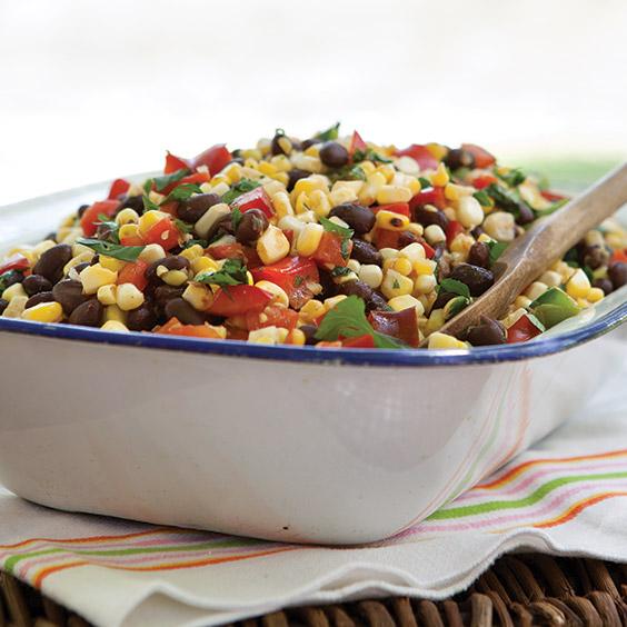 Grilled Corn and Black Bean Salad - Paula Deen Magazine