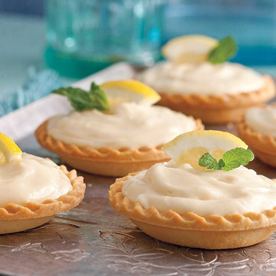 creamy lemon shortbread tarts paula deen magazine