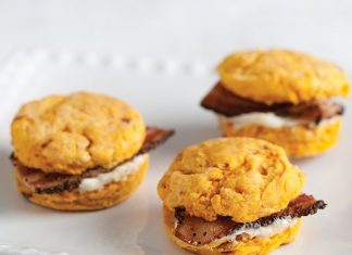 Chipotle Sweet Potato Biscuit Bites