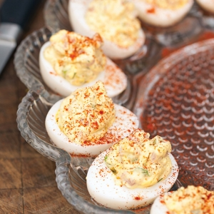 ham salad deviled eggs