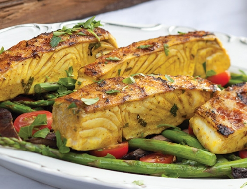 Moroccan-Spiced Halibut