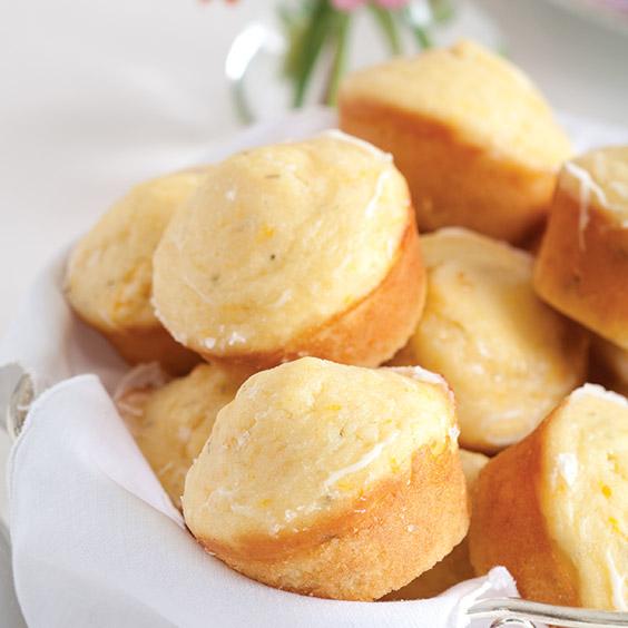 Orange-Thyme Muffins