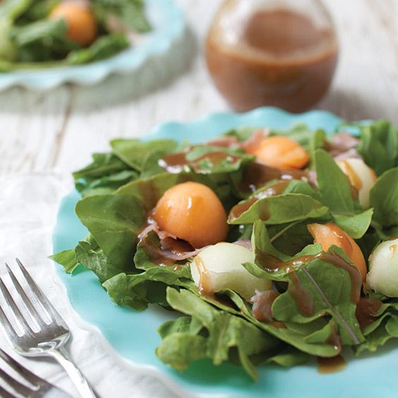 arugula, prosciutto, and fig salad