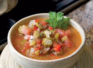 tomato and okra soup