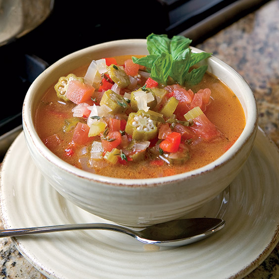 tomato and okra soup