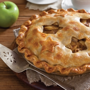 Double-Crust Apple-Pear Pie - Paula Deen Magazine