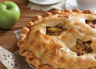 Double-Crust Apple-Pear Pie, apple recipes