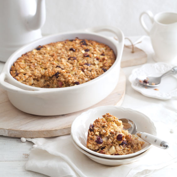 Apple-Cranberry Oatmeal