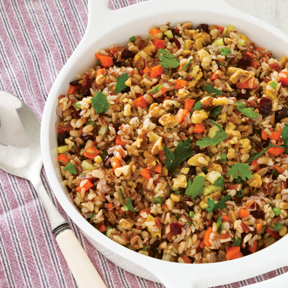 Autumn Rice Salad