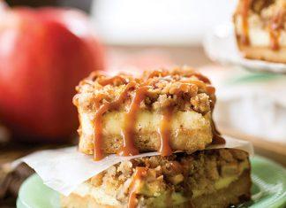 Apple-Caramel Cheesecake Bars