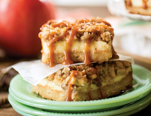 Apple-Caramel Cheesecake Bars