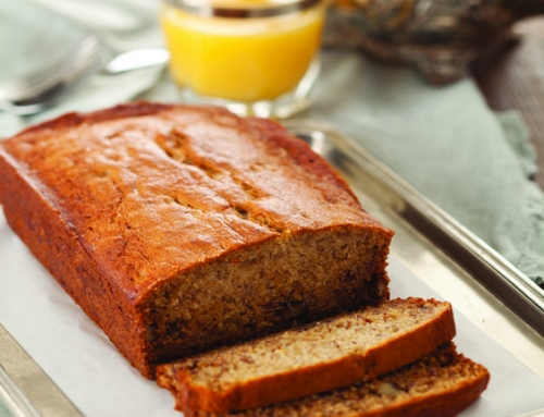 Browned Butter Banana-Walnut Bread