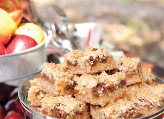 apple-date bars