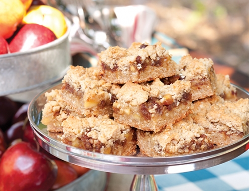 Apple-Date Oatmeal Bars