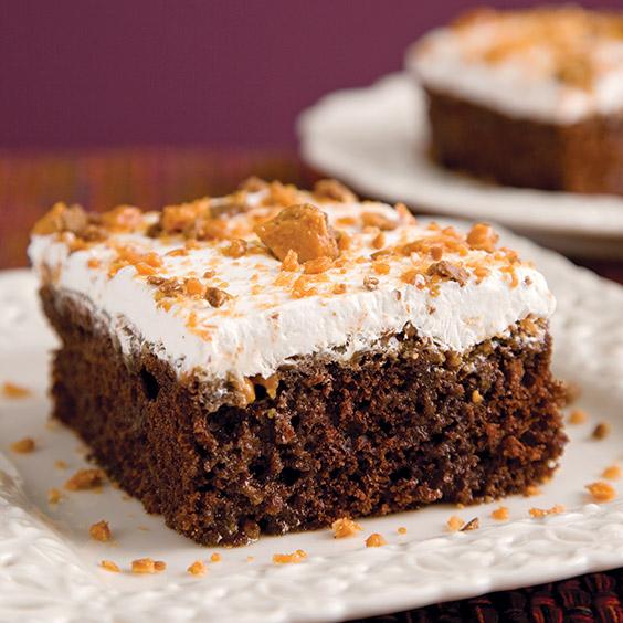Butterfinger Cake Paula Deen Magazine
