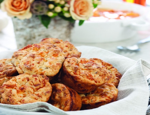 Garlic-Caraway Muffins
