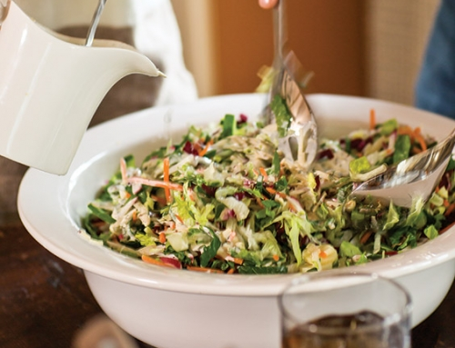 Chopped Salad with Buttermilk-Dijon Dressing