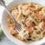 SPRING PASTA lemony shrimp and caper pasta