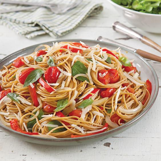 Roasted Tomato Whole Wheat Spaghetti - Paula Deen Magazine