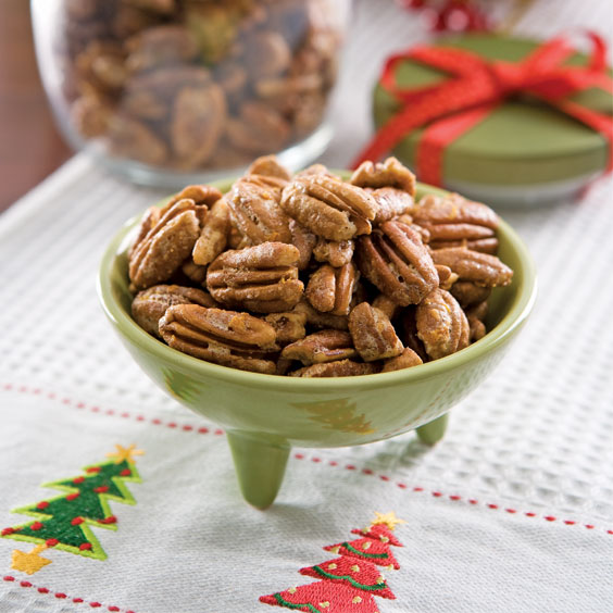 Brown Sugar-Orange Pecans