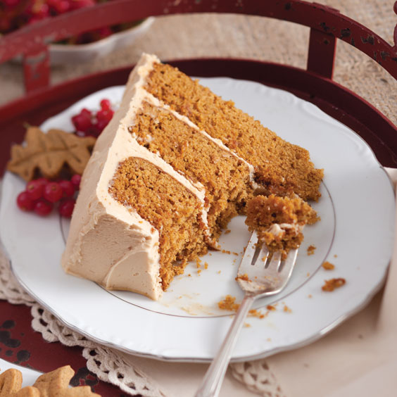Pumpkin Spice Cake - Paula Deen Magazine
