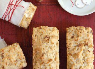 Smoky Cheese-Bacon Loaves