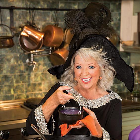Paula Deen at Halloween