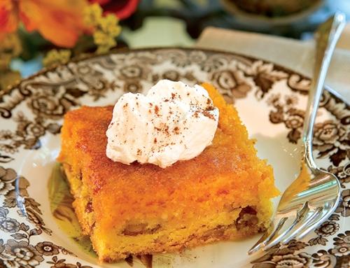 Creamy Pumpkin Squares