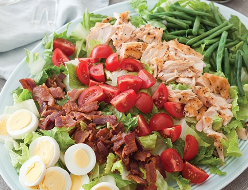 Salmon Cobb Salad