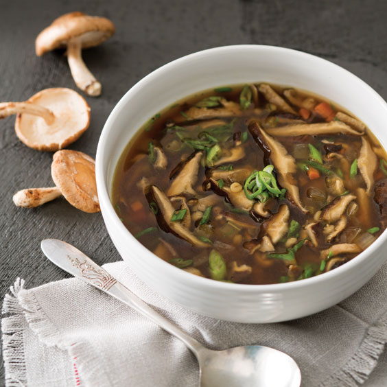Shiitake Mushroom & Barley Soup - Paula Deen Magazine